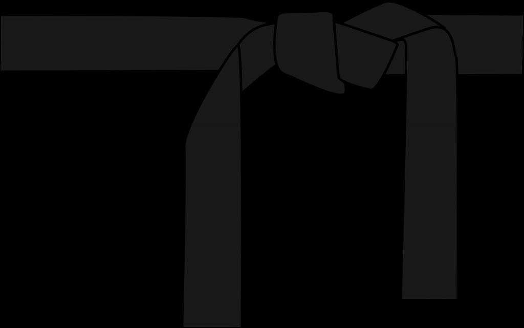 musta vyö